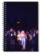 Joey Heatherton In Las Vegas Spiral Notebook