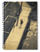 Jogging Spiral Notebook