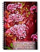 John 15 9 Spiral Notebook
