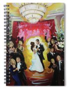 John And Jennifer Spiral Notebook