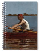 John Biglin In A Single Scull Spiral Notebook