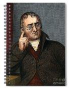 John Dalton - To License For Professional Use Visit Granger.com Spiral Notebook