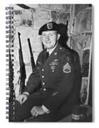 John Dane In Viet Nam  Uniform American Fork Utah 1975 Spiral Notebook