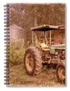 John Deere Antique Spiral Notebook