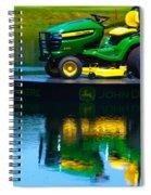 John Deere Mows The Water No 1 Spiral Notebook