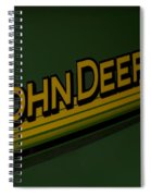 John Deere Signage Decal Spiral Notebook