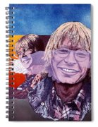 John Denver Spiral Notebook