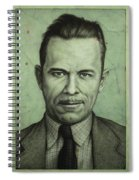 John Dillinger Spiral Notebook