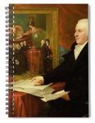 John Eardley Wilmot  Spiral Notebook