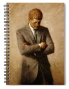 John F. Kennedy Spiral Notebook