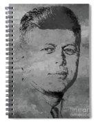 john f kennedy JFK03 Spiral Notebook
