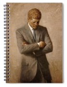 John F Kennedy Spiral Notebook