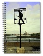 John Finley Walk II Spiral Notebook
