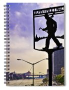 John Finley Walk IIi Spiral Notebook