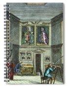 John Flamsteed, C. 1700 Spiral Notebook