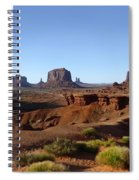 John Ford Point Spiral Notebook