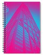 John Hancock Building In Chicago 1 Spiral Notebook