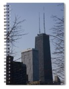 John Hancock Center Spiral Notebook