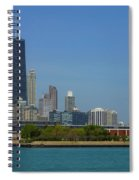 John Hancock Center Chicago Spiral Notebook