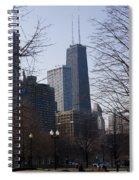 John Hancock Center II Spiral Notebook