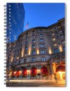 John Hancock Tower Fairmont Copley Plaza Boston Ma Spiral Notebook