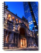 John Hancock Tower Trinity Church Boston Ma Spiral Notebook