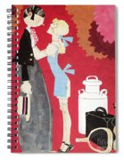 John Held, Jr. Cartoon Spiral Notebook