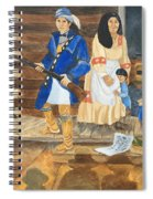John Henry King Interpretation Spiral Notebook