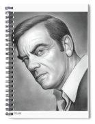 John Ireland Spiral Notebook