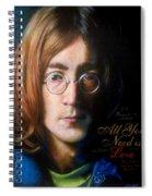John Lennon - Wordsmith Spiral Notebook