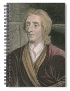 John Locke Spiral Notebook