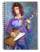 John Moorshead Spiral Notebook
