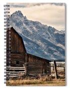 John Moulton's Barn Spiral Notebook