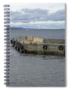 John O'groats Harbour Spiral Notebook