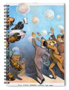 John Pierpont Morgan Spiral Notebook