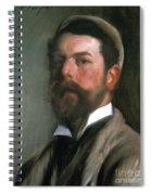 John Singer Sargent Spiral Notebook