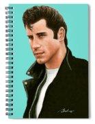 John Travolta Grease Spiral Notebook