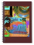 John Wayne Coors Light Commemorative Tinware  Coolidge Arizona 2004-2009 Spiral Notebook