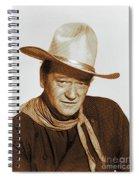 John Wayne, Hollywood Legend Spiral Notebook