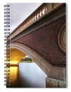 John Weeks Bridge Charles River Harvard Square Cambridge Ma Spiral Notebook