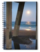 Johnnie Mercers Pier Again Spiral Notebook