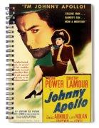 Johnny Apollo 1940 Spiral Notebook