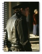Johnny Cash About To Draw On Kirk Douglas Old Tucson Arizona 1971  Johnny Cash Is About To Draw Agai Spiral Notebook