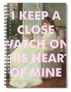 Johnny Cash Art Print Spiral Notebook
