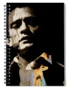 Johnny Cash - I Walk The Line  Spiral Notebook