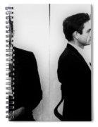 Johnny Cash Mug Shot Horizontal Spiral Notebook