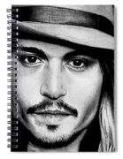 Johnny Depp  Spiral Notebook