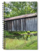 Johnson's Mill/salt Creek Covered Bridge  Spiral Notebook