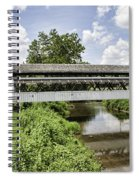 Johnston Covered Bridge Spiral Notebook