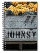 Johnston Fruit Farms Spiral Notebook
